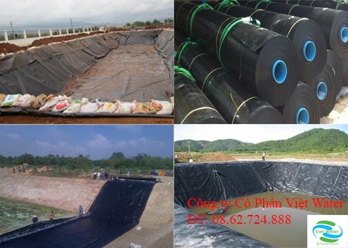Bạt HDPE,  Và các công trình