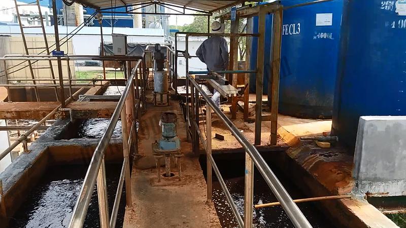 hoá lý xử lý nước thải dệt nhuộm