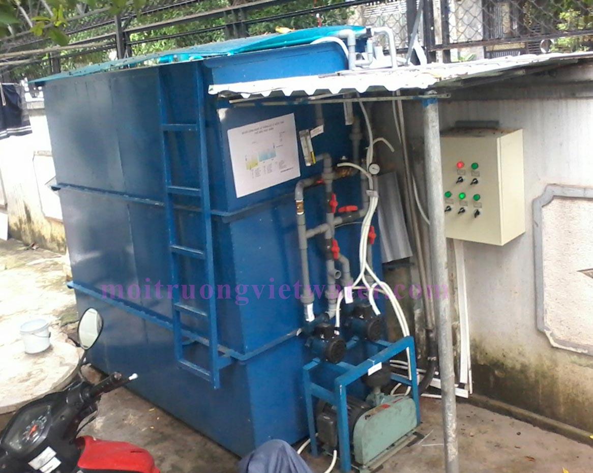 Hệ thống xử lý nước thải chế biến xúc xích